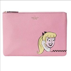 Kate Spade Archie Betty & Veronica Large Pouch